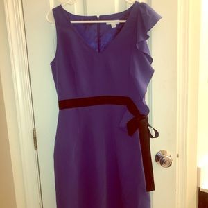 New York and Co ruffle side dress